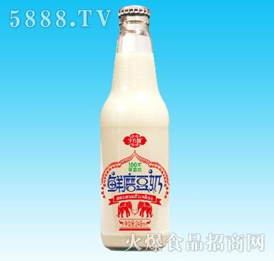 宇方圆鲜磨豆奶248ml