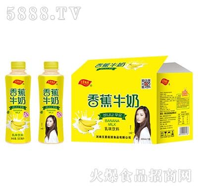 五星航班香蕉牛奶乳味饮料500mlx15瓶