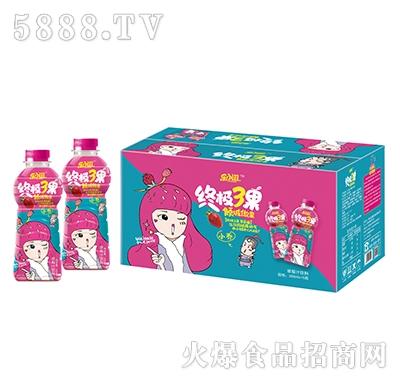 乐小滋终极3果草莓果汁饮料500mlx15瓶