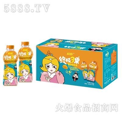 乐小滋终极3果芒果果汁饮料500mlx15瓶