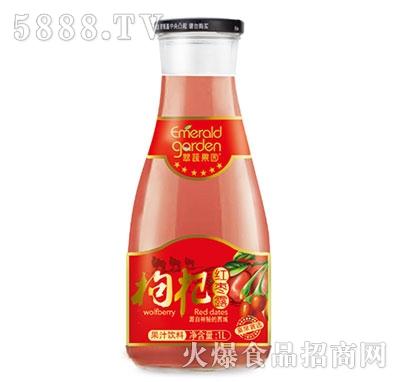 翠蔬果园枸杞红枣露果汁饮料1L