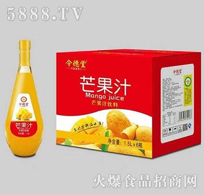 令德堂芒果汁1.5L礼盒装产品图