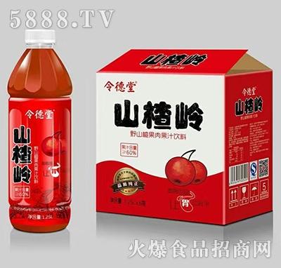 令德堂山楂岭山楂汁1.25Lx6瓶产品图