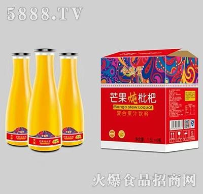 令德堂芒果炖枇杷汁1.5Lx6瓶产品图