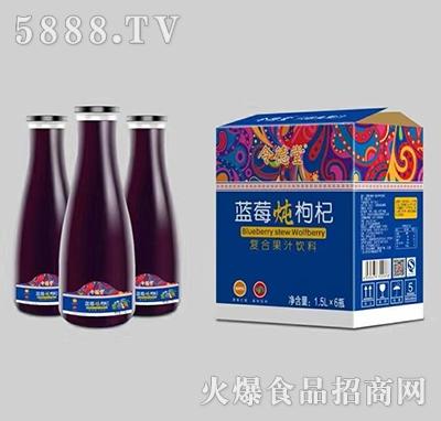 令德堂蓝莓炖枸杞汁1.5Lx6瓶产品图