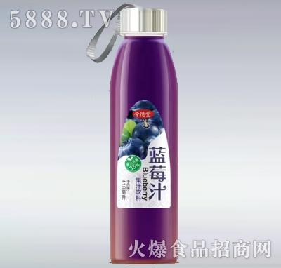 令德堂蓝莓汁418ml产品图