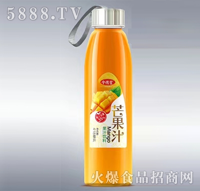 令德堂芒果汁418ml产品图