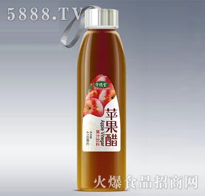 令德堂苹果醋418ml产品图