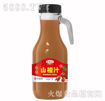 令德堂山楂汁1.5L产品图