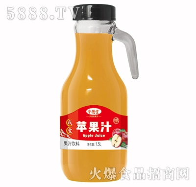令德堂苹果汁1.5L产品图