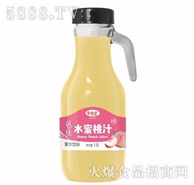 令德堂水蜜桃汁1.5L产品图