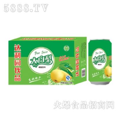 达利园饮品大白梨果汁饮料箱装