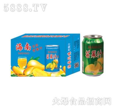 达利园饮品海南芒果果汁饮料箱装