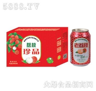 达利园饮品荔枝珍品果汁饮料箱装