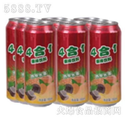 达利园饮品4合一菠萝果汁饮料罐装