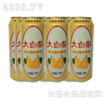 达利园饮品大白梨饮料罐装