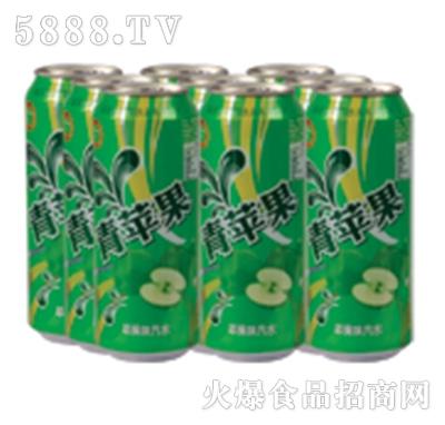 达利园饮品青苹果汽水罐装
