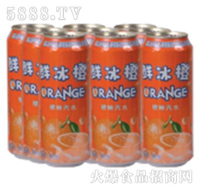 达利园饮品鲜冰橙饮料罐装