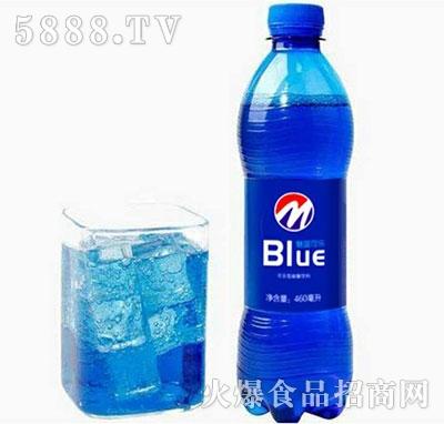 蓝色可乐460ml