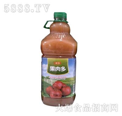 优卫果肉多山楂复合果肉饮料2.5L