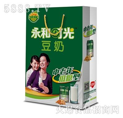 永和时光豆奶中老年低糖型礼盒