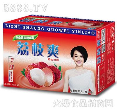 金娇阳荔枝爽果味饮料箱子