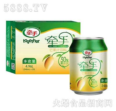 牵手芒果汁果汁饮料248mlx20罐装
