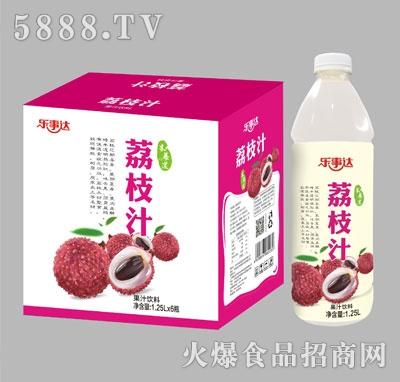 乐事达荔枝汁1.25Lx6瓶