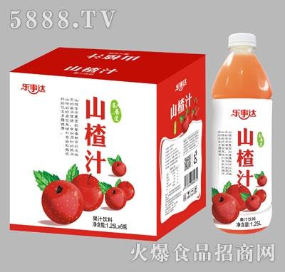 乐事达山楂汁1.25Lx6瓶
