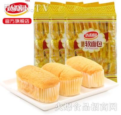 达利园早餐面包糕点法式软面包1080g