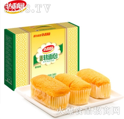 达利园法式软面包香奶味年货礼盒装600g