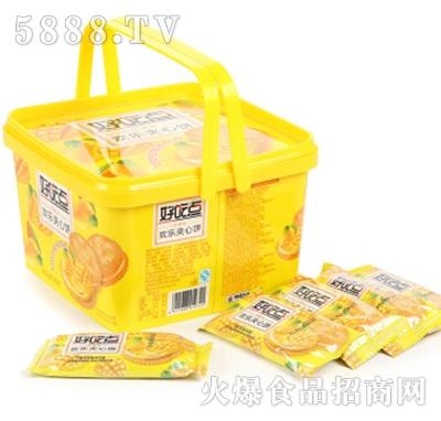 好吃点夹心饼干540g盒装芒果味