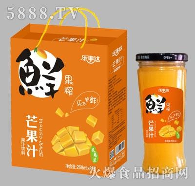 乐事达芒果汁饮料268mlX8