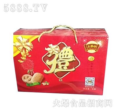 """三淮坊""""礼""""字盒饼干"""