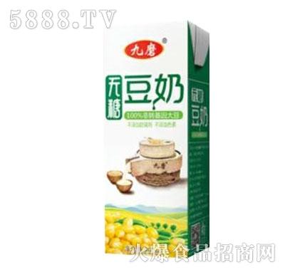 九磨无糖豆奶250ml