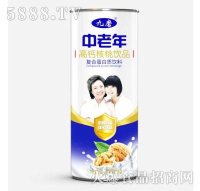 九磨中老年高钙核桃饮品240ml