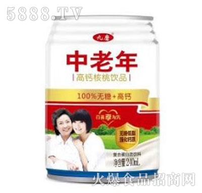 九磨中老年复合蛋白饮料240ml