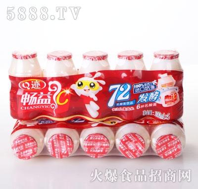 Q迹畅益发酵乳酸菌饮料