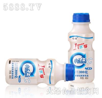 Q迹畅益发酵乳酸菌饮品原味340ml