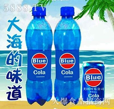 美国可乐蓝色可乐瓶装