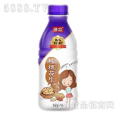 傣恋现磨核桃花生蛋白饮料1L