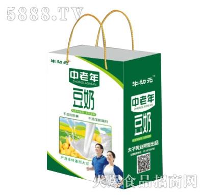 牛初元中老年豆奶(袋)