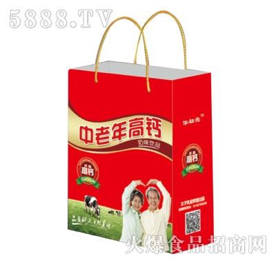 牛初元中老年高钙奶味饮品(袋)