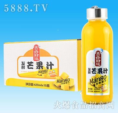 妙畅好财运发酵芒果汁450mlx15瓶