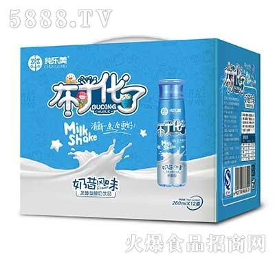 纯乐美布丁化了发酵型酸奶饮品手提装260mlx12瓶