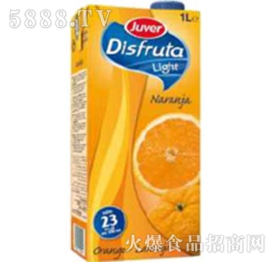 真维橙子果汁盒装1L
