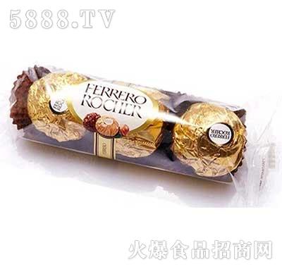 费列罗榛果威化巧克力3粒37.5g盒装