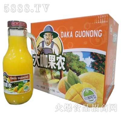 大咖果农芒果汁1.5Lx6瓶1