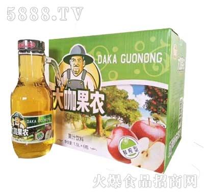 大咖果农苹果醋饮料1.5Lx6瓶