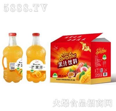 芒果汁2.5Lx6瓶